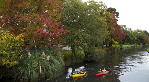 The Avon River in Christchurch as New Zealand brings in new work rules to control the number and improve the quality of immigrants (AP Photo/Mark Baker)
