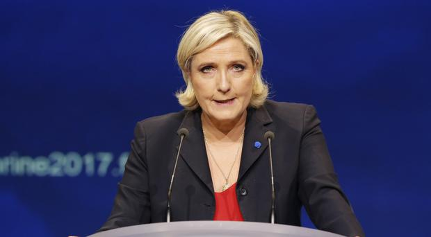 Could Marine Le Pen make the run-off vote? (Michel Euler/AP)