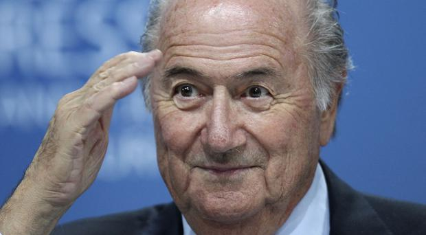 Sepp Blatter has said he has met with US Department of Justice investigators (AP)