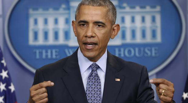 Barack Obama will address young community leaders in Chicago on Monday (Pablo Martinez Monsivais, AP file)