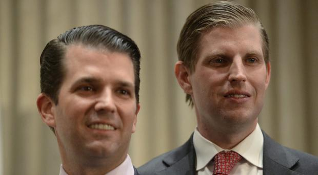 Donald Trump Jr, left, and his brother Eric (The Canadian Press/AP)