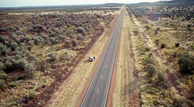 Police said the boy was driving to the west coast city of Perth, more than 2,500 miles from Kendall