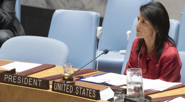 Ms Haley told NBC the North Korean leader is unstable and paranoid (AP)