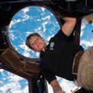 NASA astronaut Peggy Whitson aboard the International Space Station