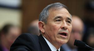 US Pacific Command Commander Admiral Harry Harris Jr testifies before a House Armed Services Committee hearing on North Korea (AP)