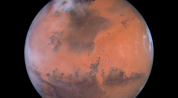 Astronaut brickies may be needed to set up the first bases on Mars. (PA/Nasa)