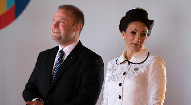 Joseph Muscat has denied allegations that his wife Michelle owns an offshore company set up secretly in Panama