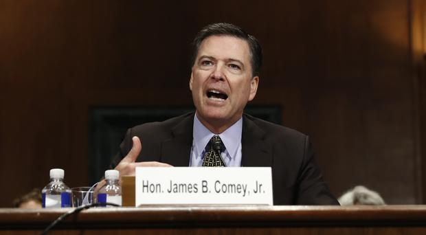 FBI Director James Comey testifies on Capitol Hill in Washington (AP/Carolyn Kaster)