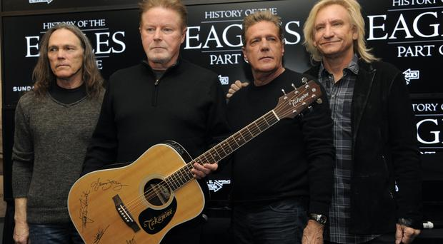 The Eagles claim the hotel is capitalising off the band's hit (Chris Pizzello/Invision/AP)