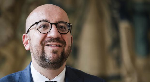 Belgian prime minister Charles Michel says Britain will have to pay a bill for Brexit (AP/Geert Vanden Wijngaert)