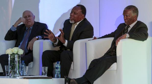 Image result for fw de klerk, mbeki and forming new alliance