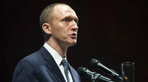 Carter Page has agreed to co-operate with the inquiry (AP)