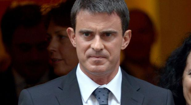 Manuel Valls is backing Emmanuel Macron's political movement