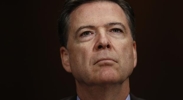 Ex-FBI director James Comey has declined to appear before the Senate. (AP/Carolyn Kaster)