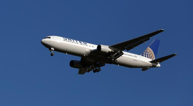 The incident was not the result of hacking, United Airlines said
