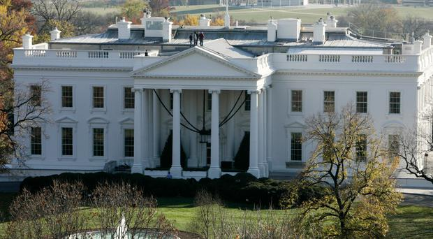 White House is on lockdown after a person jumped the fence