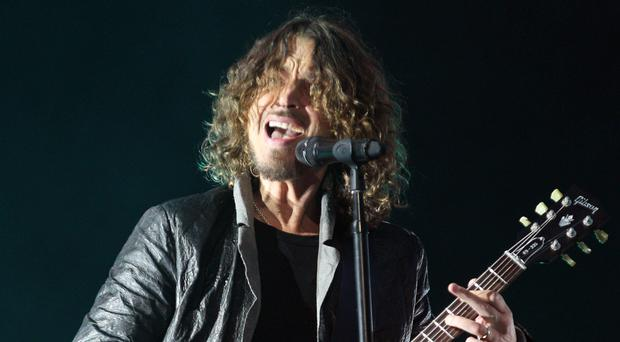Chris Cornell performing with Soundgarden at the Hard Rock Calling festival in London in 2012