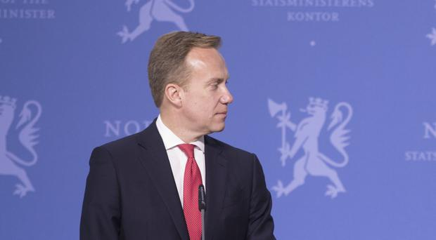 Norwegian foreign minister Borge Brende said Mr French does not face any charges back home (AP)