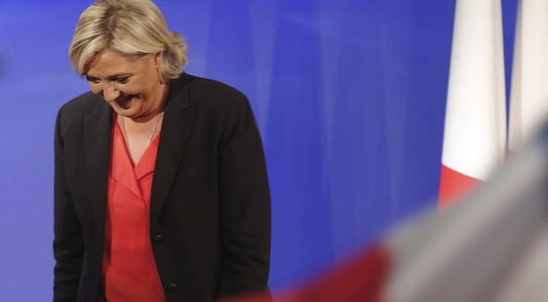 Marine Le Pen suffered a crushing defeat in France's presidential contest (Michel Euler/AP)