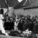 File photo of the tomb of Charles De Gaulle the day after his burial in 1970 (AP)