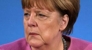 Angela Merkel said the EU nations had to fight for their own future