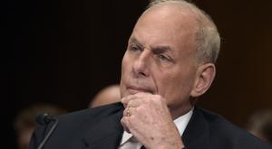 John Kelly said terrorists are 'obsessed' with the idea of downing a plane in flight (Susan Walsh/AP)