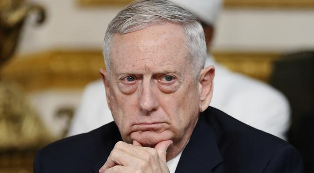 James Mattis warned the conference about North Korea's nuclear ambitions (AP)