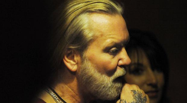 Allman Brothers Band singer and organist Gregg Allman (Grant Blankenship/The Macon Telegraph via AP)