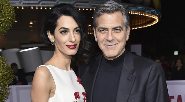 Clooneys welcome twins Ella and Alexander