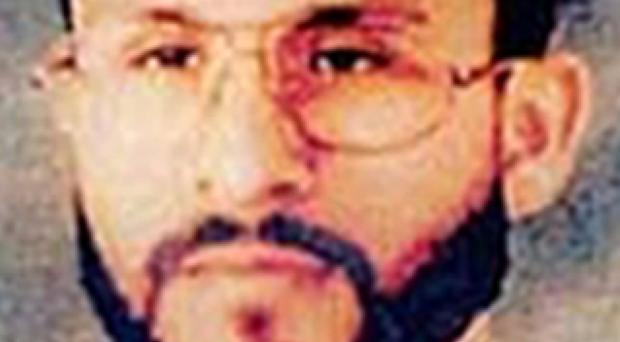 The complaint centres on the case of Abu Zubaydah, a Saudi citizen and senior al-Qaeda member who was detained in the wake of the 9/11 attacks (US Central Command/AP)