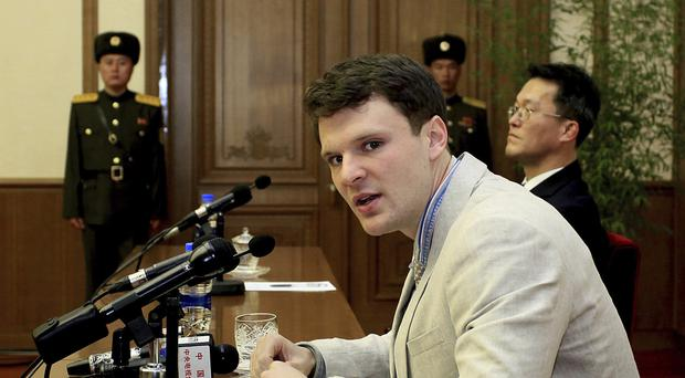 Otto Warmbier has been released by North Korea (AP)