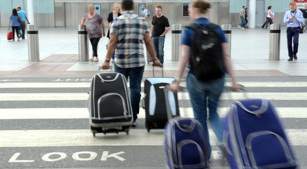 The power cut affected luggage and air-con systems and delayed dozens of flights