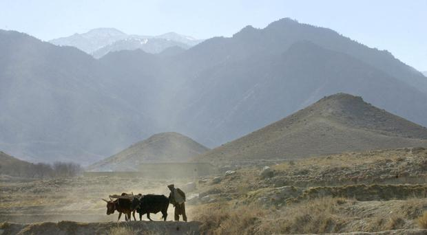 The mountain region of Tora Bora where Osama bin Laden had his stronghold (AP)
