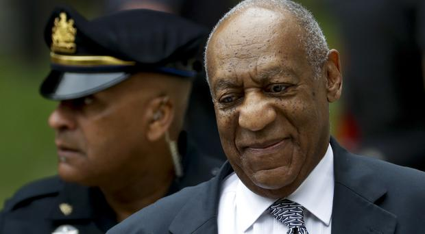 Bill Cosby arrives at Montgomery County Courthouse (AP)