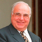 Reunited country: Helmut Kohl