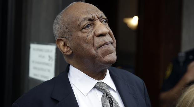 Bill Cosby leaves the court after the mistrial is declared (AP)