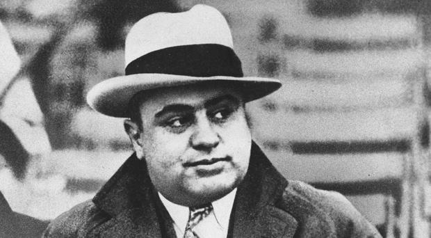 A diamond pocket watch that belonged to Al Capone sold for 84,375 dollars