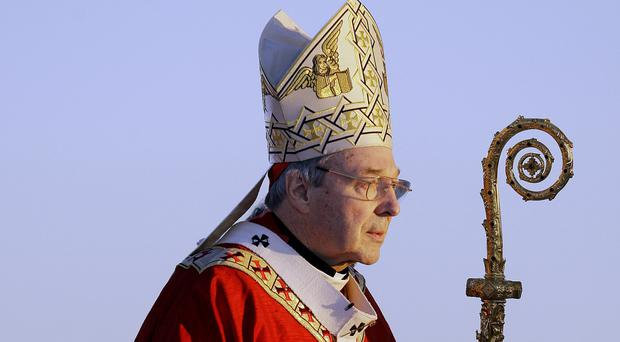 Cardinal Pell pictured in 2008 (AP)