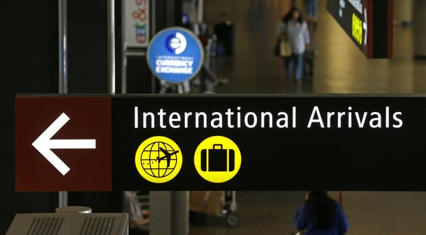 New visa rules applying to the six countries and refugees require proof of a close family or business tie to the US (AP)