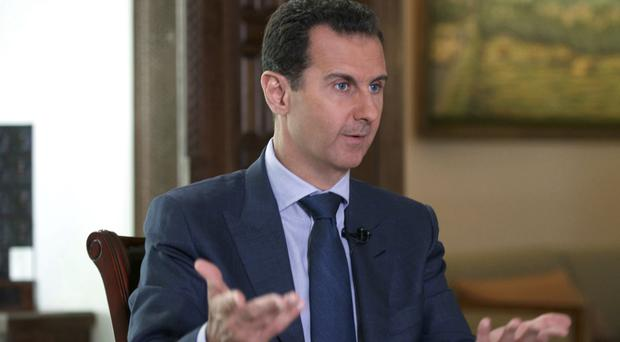Earlier this week, the White House warned that Bashar Assad is preparing for another chemical attack (Syrian Presidency via AP)