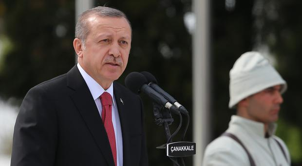 Turkish President Recep Tayyip Erdogan wants to hold a rally on the sidelines of the G20 summit