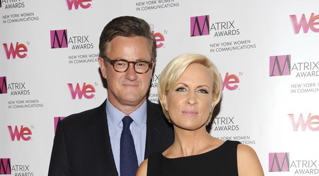 MSNBC's Morning Joe co-hosts Joe Scarborough and Mika Brzezinski have been attacked by Donald Trump (AP)