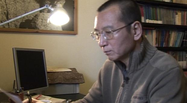 Liu Xiaobo pictured in 2008, as fears grow for the political prisoner's health (AP Video via AP)