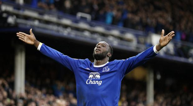 Romelu Lukaku scored 25 goals for Everton last season