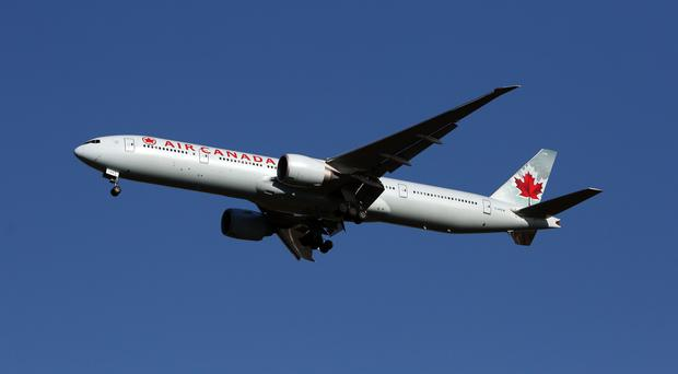 The Air Canada plane almost landed on a taxiway instead of the runway it was supposed to land on