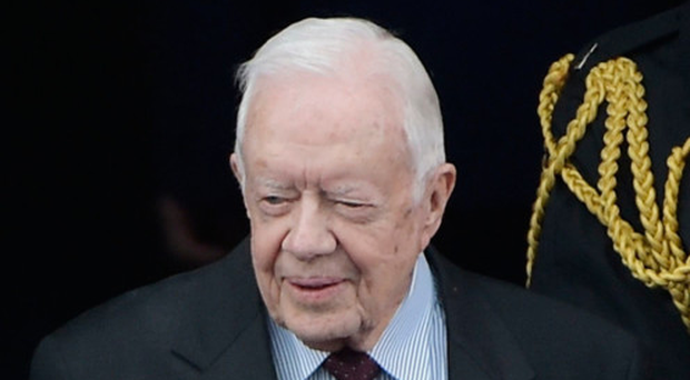 Jimmy Carter hospitalized after collapsing from dehydration