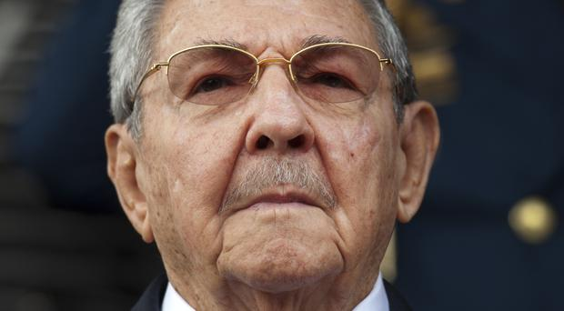Cuba's Raul Castro called President Donald Trump's new policy on Havana a setback for Cuba-US relations (AP)