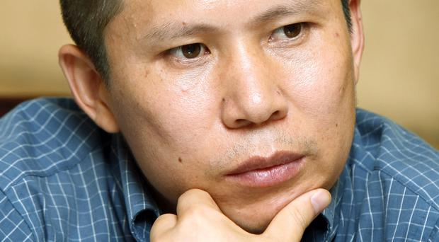 Legal scholar Xu Zhiyong was jailed in 2014 (AP)