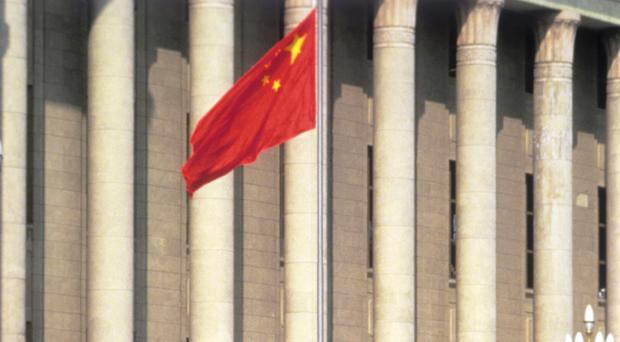 The cause of the fire in China is not known