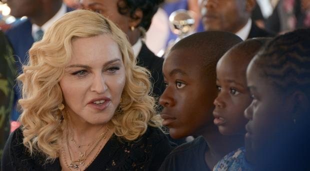 Madonna said she was shocked to learn of the planned online auction of a letter from Tupac Shakur (AP Photo Thoko Chikondi, File)